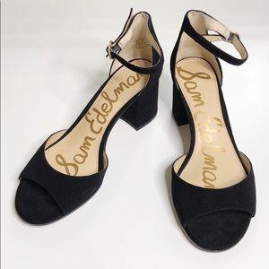 *LOWEST* Sam Edelman Susie Ankle Strap Block Heel